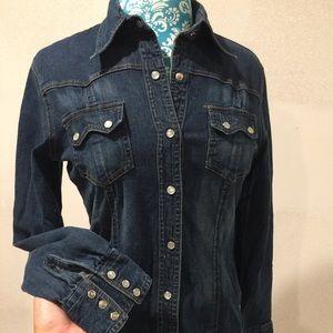 Charlotte Russe Denim Shirt